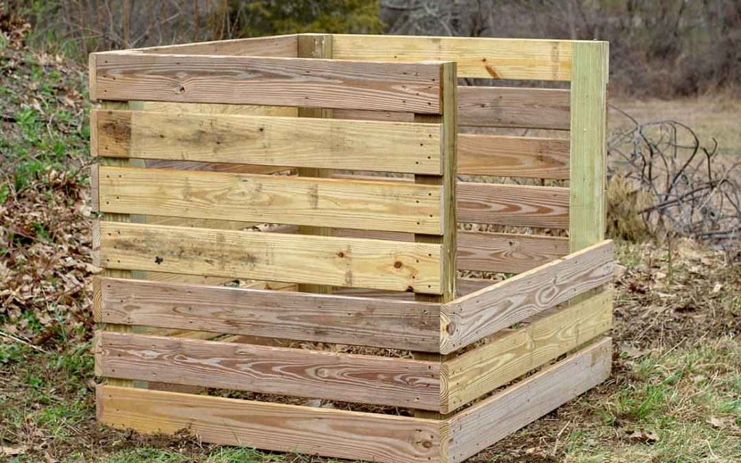Building a Compost Bin for your Backyard Homestead