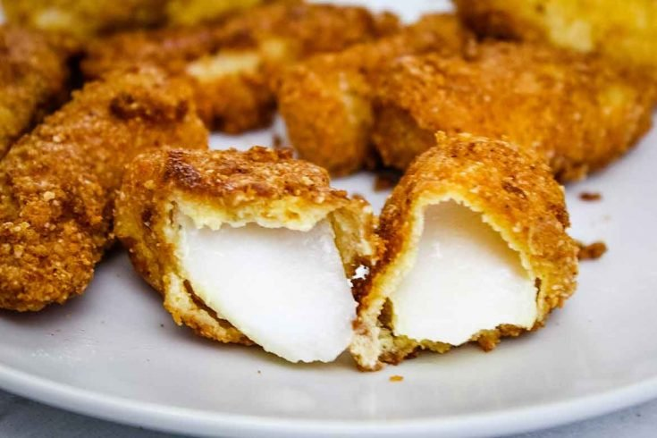 Fried Cod Fish Sticks