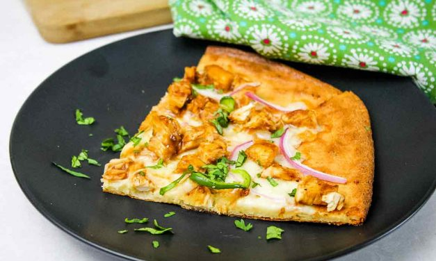 Easy Barbecue Chicken Pizza