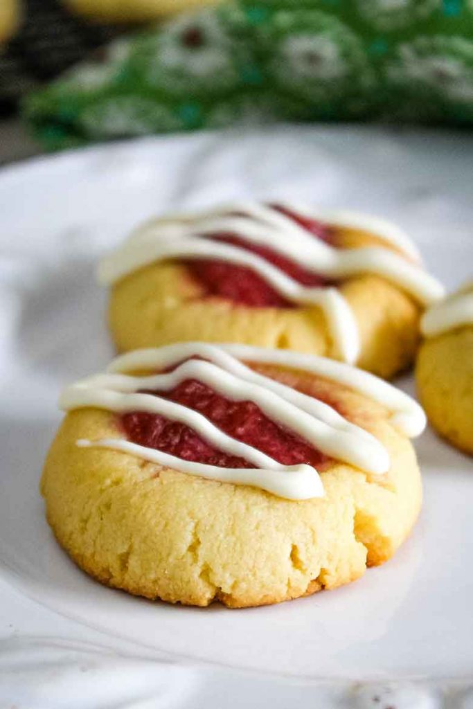 Strawberry Rhubarb Cookies