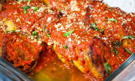 Vegetarian Patties with Marinara Sauce – Keto Recipe