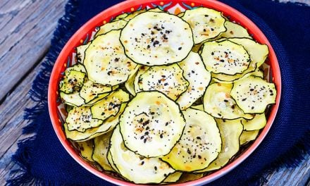 Keto Zucchini Chips – Everything But The Bagel