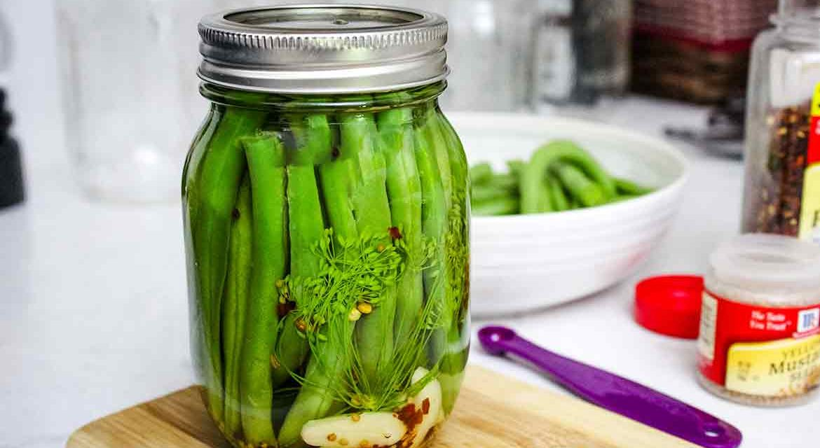 Pickled Green Beans aka Dilly Beans
