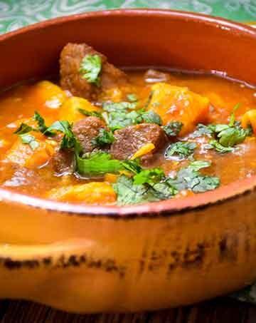 Instant Pot Chipotle Venison Sweet Potato Stew