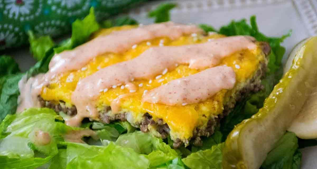 Big Mac Casserole – Keto Friendly Recipe