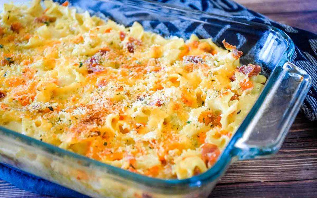 Ham and Noodle Casserole – Leftover Ham Recipe