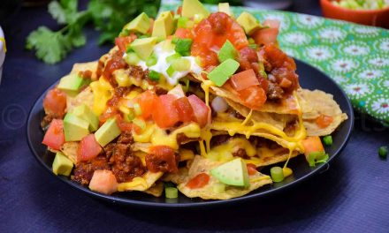 Loaded Nachos – with Venison Chili