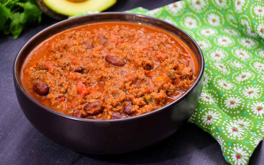 Venison Chili – a big batch recipe for game day