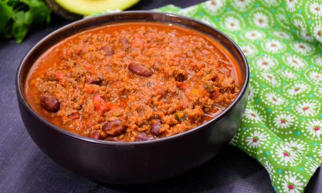 Venison Chili – a big batch recipe for game day