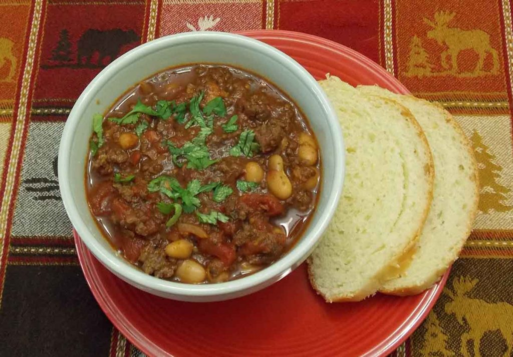 Venison Recipes for Superbowl - Venison White Chili