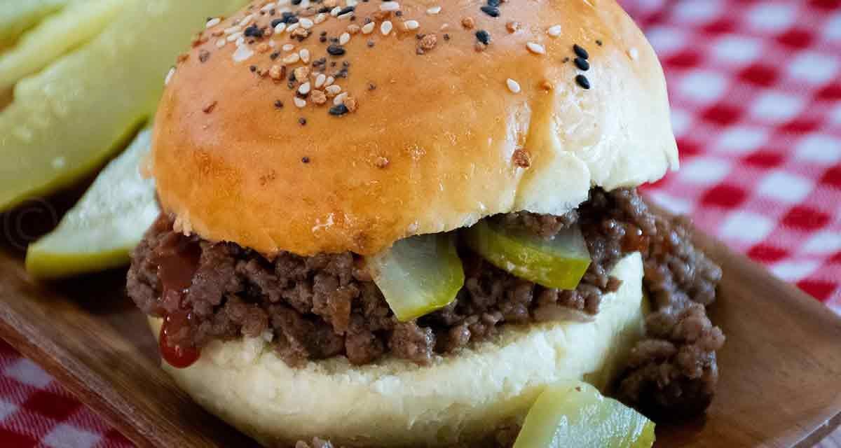 Loose Meat Sandwiches aka Maid-Rites