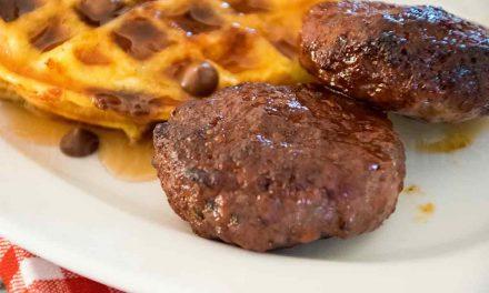 Venison Breakfast Sausage – Air Fryer Recipe