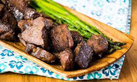 Venison Steak Bites Air Fryer Recipe