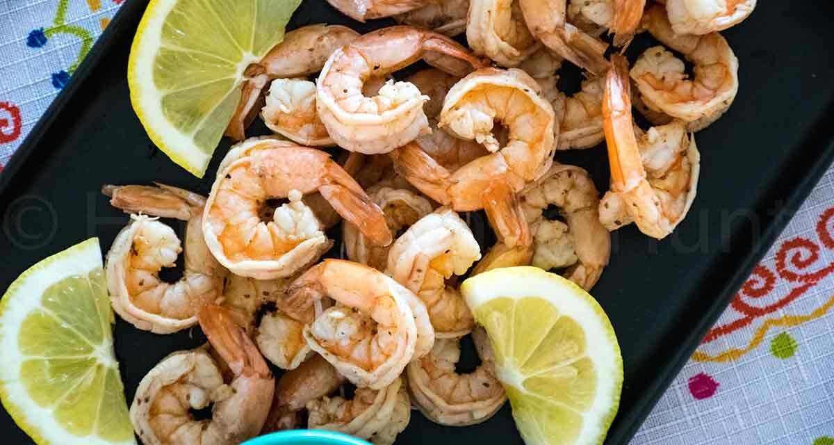 Boiled Shrimp with Old Bay Seasoning
