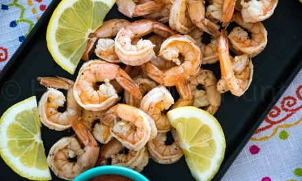 Boiled Shrimp with Old Bay Seasoning