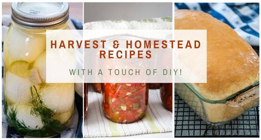 Harvest and Homestead Recipe Group