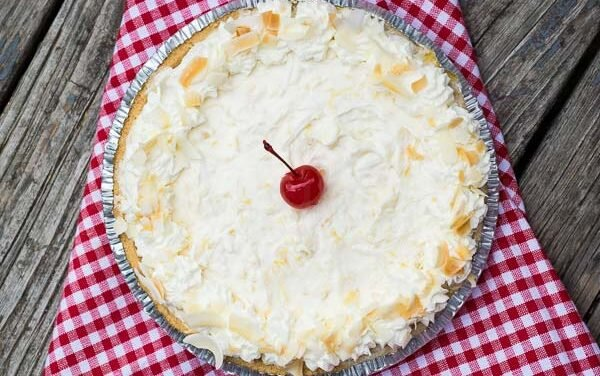 Pina Colada Pie – No Bake Recipe
