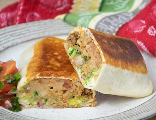 Grilled Stuffed Burritos – Better than Takeout