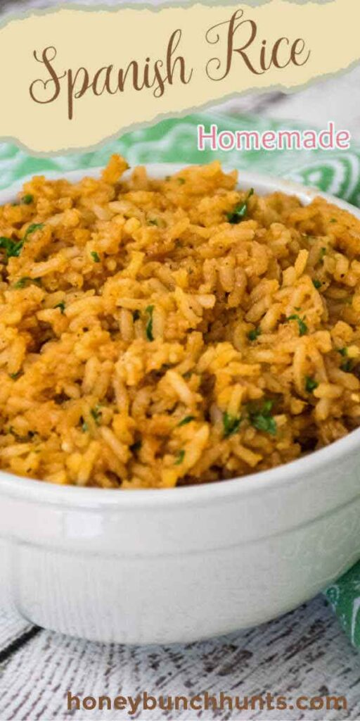 Pinnable Image for Spanish Rice recipe