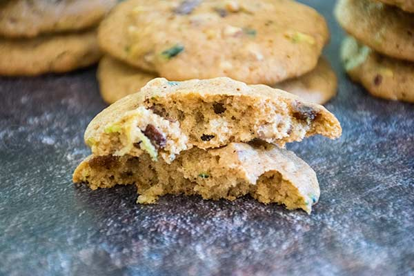 Zucchini Spice Cookies