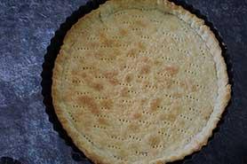 prebaked tart shell