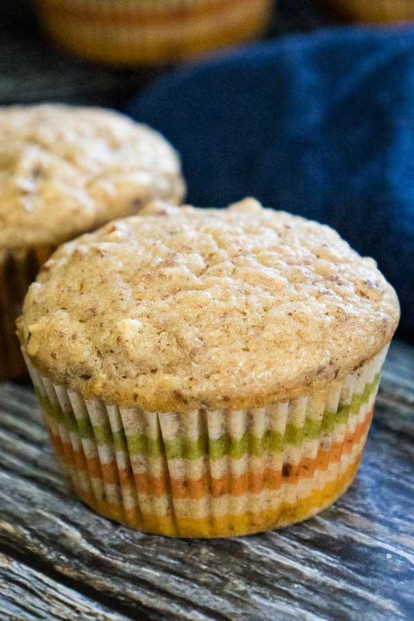Applesauce Muffin up close