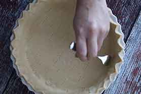 prep pie crust