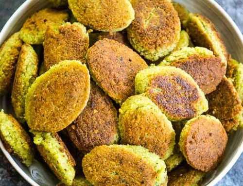 Homemade Falafel Recipe   With Dried Chickpeas